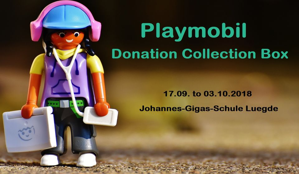 Playmobil - Donation Collection Box Luegde