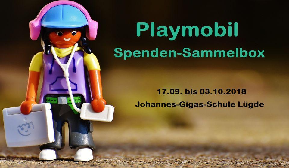 Playmobil - Spenden-Sammelbox Lügde